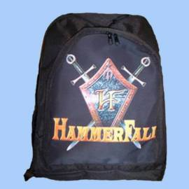 Rucsac HAMMERFALL - Logo