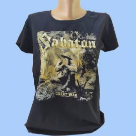 Tricou fete SABATON - The Great War
