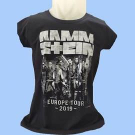 Tricou fete RAMMSTEIN - Europe Tour 2019