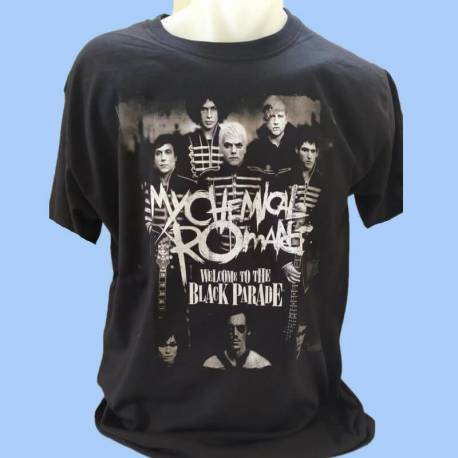 Tricou MY CHEMICAL ROMANCE - Welcome to the Black Parade