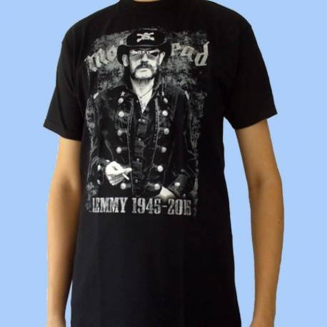 Tricou MOTORHEAD - Lemmy 1945-2015