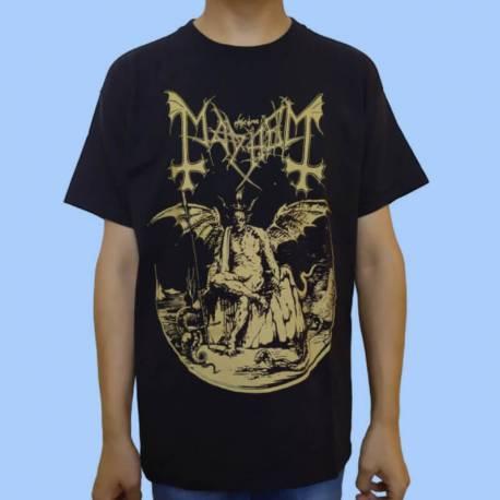 Tricou MAYHEM - Daemon (gold)