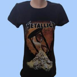 Tricou fete METALLICA - Clepsidra
