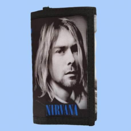 Portofel NIRVANA - Kurt Cobain
