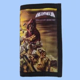 Portofel cu lant HELLOWEEN - Walls of Jericho