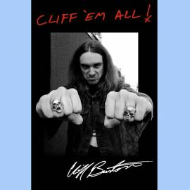 Steag METALLICA - Cliff Em All