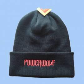 Caciula POWERWOLF - Logo rosu
