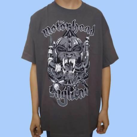 Tricou MOTORHEAD - England - Gray