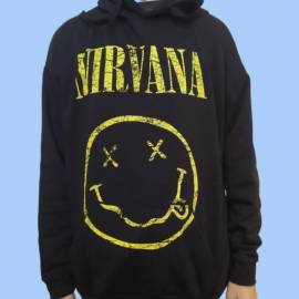 Hanorac NIRVANA - Scratched Smiley Logo