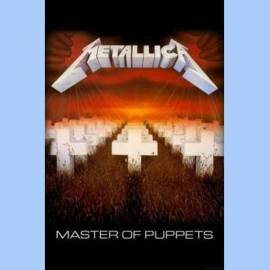 Steag METALLICA - Master Of Puppets
