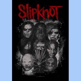 Steag SLIPKNOT - Masks