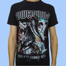 Tricou POWERWOLF - Kiss of the Cobra King