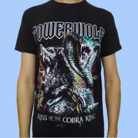 Tricou POWERWOLF - Kiss of the Cobra King