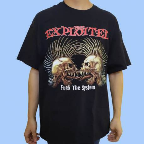 Tricou THE EXPLOITED - Fuck the System