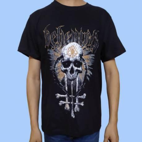 Tricou BEHEMOTH - Skull and Bones
