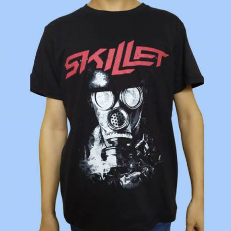 Tricou SKILLET - Gas Mask