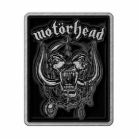 Insigna MOTORHEAD - Logo & Warpig
