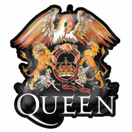 Insigna QUEEN - Crest Color Logo