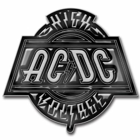 Insigna AC/DC - High Voltage