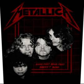 Back patch sau petic textil METALLICA - Bang that Head