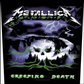 Back patch sau petic textil METALLICA - Creeping Death
