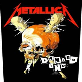 Back patch sau petic textil METALLICA - Damage Inc