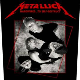 Back patch sau petic textil METALLICA - Hardwired Concrete
