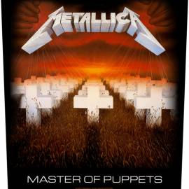 Back patch sau petic textil METALLICA - Master Of Puppets