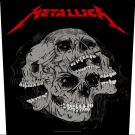 Back patch sau petic textil METALLICA - Skulls