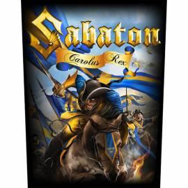 Back patch sau petic textil SABATON - Carolus Rex
