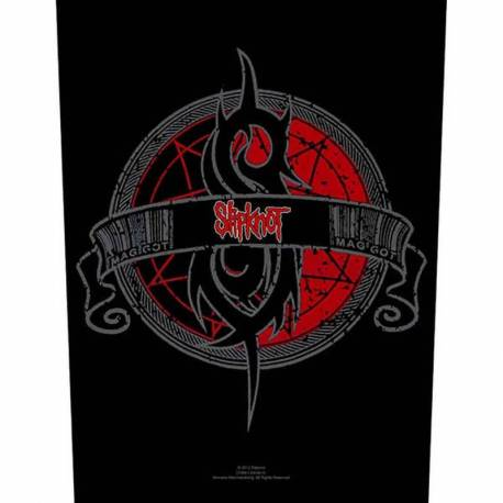 Back patch sau petic textil SLIPKNOT - Maggot