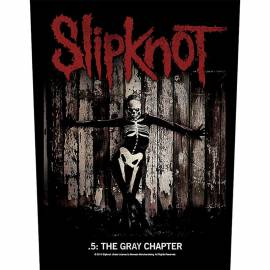Back patch sau petic textil SLIPKNOT - The Gray Chapter
