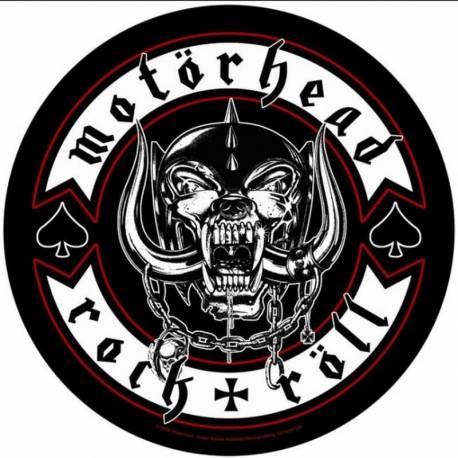 Backpatch sau petic textil MOTORHEAD - Rock And Roll