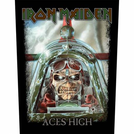 Backpatch sau petic textil IRON MAIDEN - Aces High