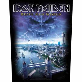 Backpatch sau petic textil IRON MAIDEN - Brave New World