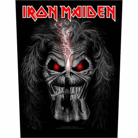 Backpatch sau petic textil IRON MAIDEN - Eddie Candle Finger