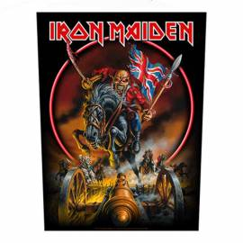 Backpatch IRON MAIDEN - England