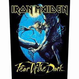 Backpatch IRON MAIDEN - Fear Of The Dark
