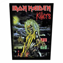 Backpatch IRON MAIDEN - Killers