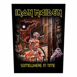Backpatch IRON MAIDEN - Somewhere In Time