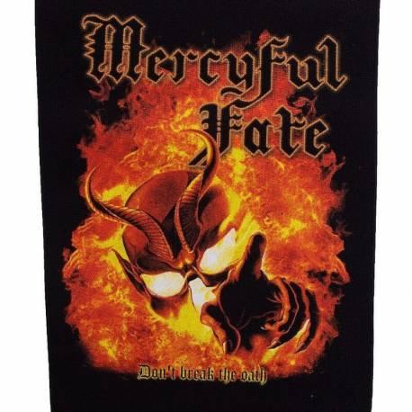 Backpatch MERCYFUL FATE - Don t Break The Oath