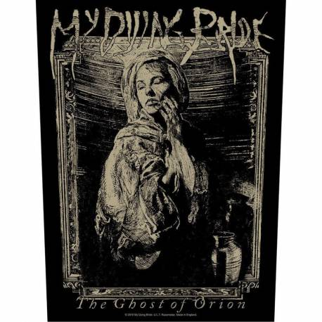 Backpatch MY DYING BRIDE - The Ghost Of Orion Woodcut