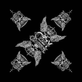 Bandana OZZY OSBOURNE - Logo Skull & Wings
