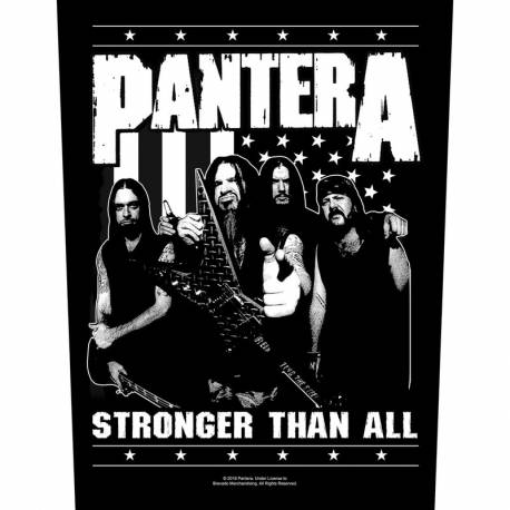 Back patch PANTERA - Stronger Than All