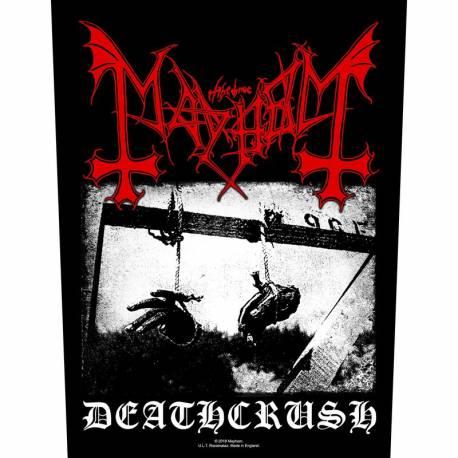 Back patch MAYHEM - Deathcrush