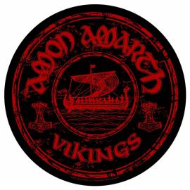 Back patch AMON AMARTH - Vikings Circular