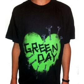 Tricou GREEN DAY - Green Heart