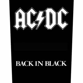 Back patch AC/DC - Back In Black