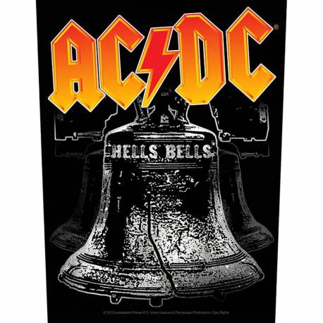 Back patch AC/DC - Hells Bells