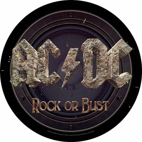 Back patch AC/DC - Rock Or Bust